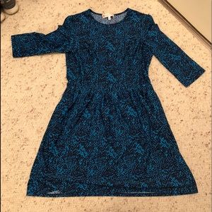 Light and navy blue Jude Connolly dress.